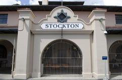 Stockton Train Station Royalty Free Stock Image