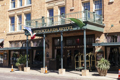 Stockyards Hotel in Fort Worth, TX, USA Royalty Free Stock Photos