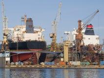 stocznia Obraz Stock
