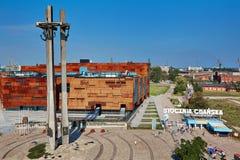 Stocznia Gdanska skeppsvarv Polen Solidarnosc fotografering för bildbyråer