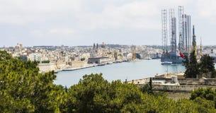 Stocznia na Malta Obrazy Stock
