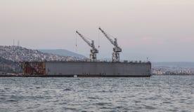 Stocznia w Izmir zdjęcie stock