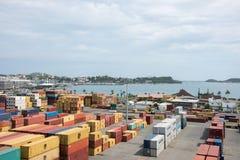 Stocznia w Nowym Caledonia zdjęcia royalty free