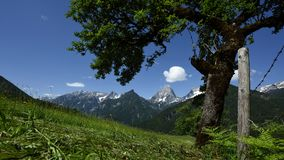 Spring in Totes Gebirge, Oberosterreich, Austria royalty free stock images