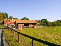 stodole gospodarstwa Zdjęcia Stock