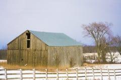 stodole zimno Zdjęcia Royalty Free