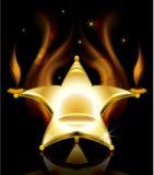 Stoel in de vorm van sterren Royalty-vrije Stock Afbeeldingen