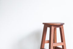 Stoel van hout wordt gemaakt dat Stock Fotografie