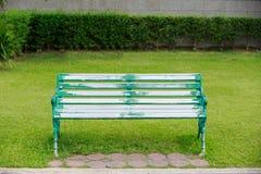 Stoel in het park Royalty-vrije Stock Foto's