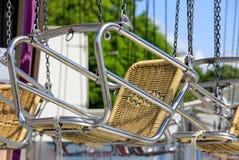 Stoel van de klassieke carrousel Royalty-vrije Stock Foto