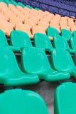 Stoelen in stadion Royalty-vrije Stock Foto