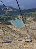 Stoeltjeslift in Fluiter Royalty-vrije Stock Fotografie