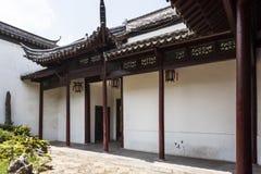 Stoep in Nanjing Ming dynasty palace - zhan garden Royalty Free Stock Photos