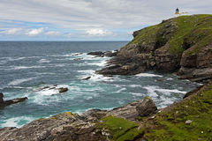 Stoer Head lighthouse Royalty Free Stock Photography