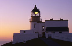Stoer lighthouse, Assynt, Scotland Royalty Free Stock Photography