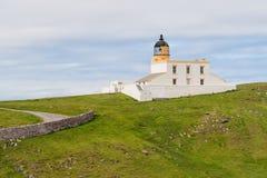 Stoer Lighthouse. On the Isle of Skye. Scotland Royalty Free Stock Photo