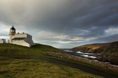 Stoer Lighthouse royalty free stock photo