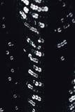 Stof die zwart kledingsmeisje met lovertjes, bergkristallen gelijk maken Kleurrijk sequined textuur stock afbeeldingen