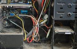 Stof in uw computer Stock Foto's