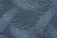 Stof van zilverachtige kleur met een abstract patroon royalty-vrije stock fotografie