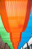 Stoff Dekoration-grün Stockbild
