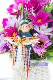 Stoffenbloemen Royalty-vrije Stock Afbeelding