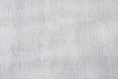 Stoffencanvas voor dwarssteekambachten Textuur van katoenen stof stock foto