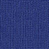 Stoffentextuur 7 diffuse naadloze kaart Marineblauw royalty-vrije stock foto's