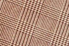 Stoffentextuur, geruit Schots wollen stofpatroon Voor natuurlijke achtergrond, banner, druk, malplaatje, Web, decoratie Beige en  Stock Foto
