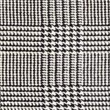 Stoffentextuur, geruit Schots wollen stofpatroon Voor natuurlijke achtergrond, banner, druk, malplaatje, Web, decoratie Wit en zw Stock Foto's