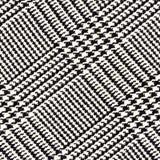 Stoffentextuur, geruit Schots wollen stofpatroon Voor natuurlijke achtergrond, banner, druk, malplaatje, Web, decoratie Wit en zw Stock Foto