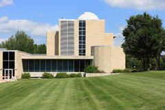 Stoffer Science Hall - Washburn University. Stoffer Science Hall, on the campus of Washburn University, was dedicated in 1960 and houses the Crane Observatory Stock Images