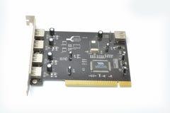 Stoffig en oude kaart USB Royalty-vrije Stock Foto