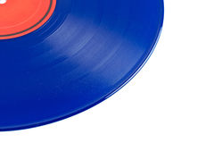 Stoffig vinylverslag royalty-vrije stock foto