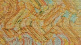 Stoffige golvende gekleurde kwaststreken Grunge geschilderd document Abstracte themaachtergrond royalty-vrije stock foto's