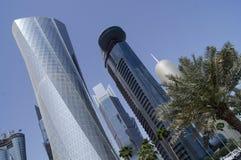 De Stad van Doha, Qatar Stock Afbeelding