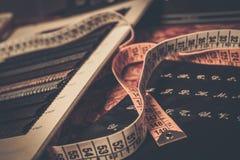 Stoffproben für maßgeschneiderte Anzüge Lizenzfreie Stockfotos