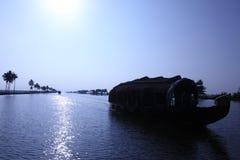 stojące wody Kerala Obrazy Stock