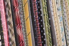 stojaków krawaty Fotografia Stock