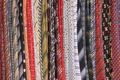 stojaków krawaty Obrazy Royalty Free