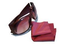 stojaków okulary przeciwsłoneczne Obraz Royalty Free