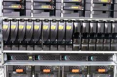 stojaków wspinający się serwery Obrazy Royalty Free