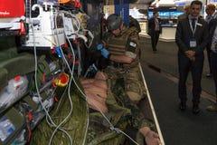 Stojak CAE ochrona i Defence Fotografia Royalty Free