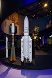 Stojak europejska agencja kosmiczna zdjęcie stock