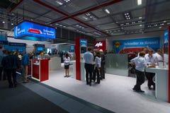 Stojak firma AVM, producent popularni routery Fritz! Pudełko fotografia royalty free