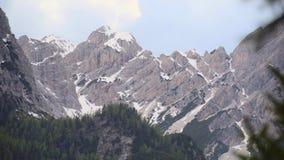 Stojak ostrość Śnieżna góra zbiory