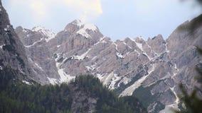 Stojak ostrość śnieżna góra zdjęcie wideo