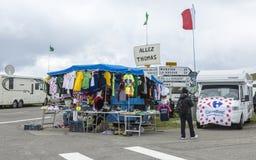 Stojak pamiątki - tour de france 2014 Fotografia Royalty Free