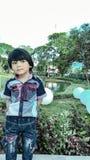 Stojak w ogródzie Zdjęcie Stock