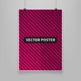 Stok pokryw wektorowy ilustracyjny minimalny projekt Geometryczni halftone gradienty Futurystyczni plakaty Szablony dla plakatów, Obraz Royalty Free